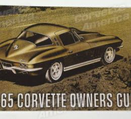 Corvette Owners Manual, 1965