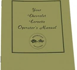 Corvette Owners Manual, 1953-1955