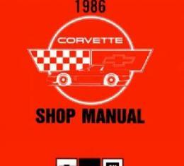Corvette Service Manual, 1986