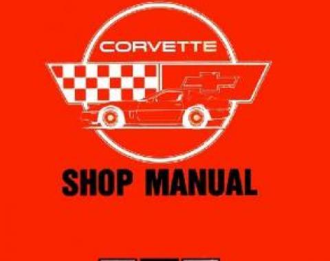 Corvette Service Manual, 1984