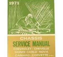 Corvette Service Manual, 1971