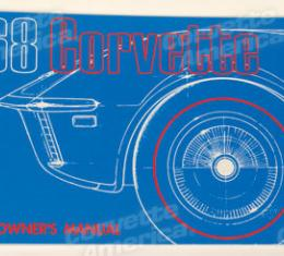 Corvette Owners Manual, 1968