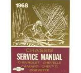 Corvette Service Manual, 1968