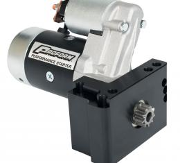 Proform High-Torque Mini Starter, 2.2KW, Fits Chevy V8, Staggered Bolt Mounting Plate 66267
