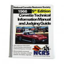 NCRS Judging Manual, 5th Edition, 1966