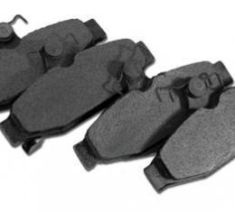 Corvette Brake Pads, Rear Axle Set, 1988-1996