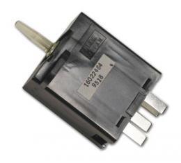 Corvette Rear Window Defogger Switch, 1984-1990