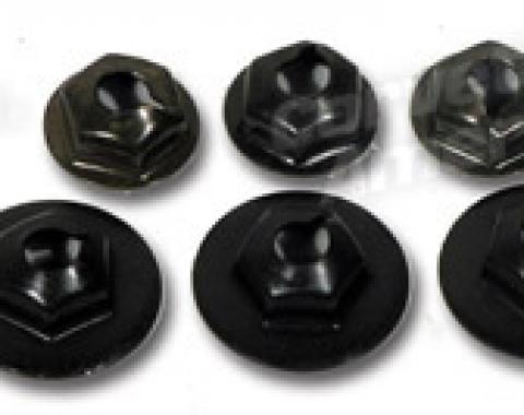 Corvette Outer Heater Box Cover Nuts, 8 Piece, 1963-1967