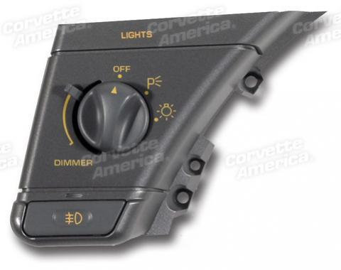 Corvette Headlight Switch, USED 1990-1991