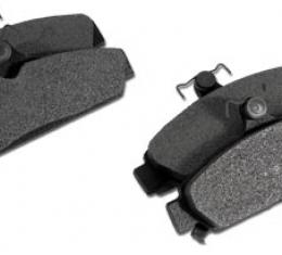 Corvette Brake Pads, Front Axle Set, Ceramic, 1984-1987