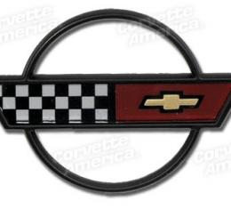 Corvette Horn Button Emblem, 1984-1989