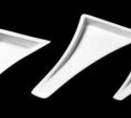 Corvette Hood Ducts, Naca Large, ACI, 1984-1996