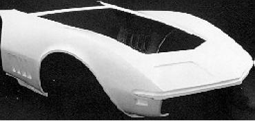 Corvette Front End, Center Wheel Well Forward, 1980-1982