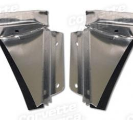 Corvette Lock Pillar Water Diverters, Late 1979-1982