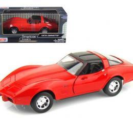 Corvette 1979 Coupe Red 1/24 Diecast