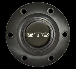 Volante S6 Series Horn Button Kit, GTO, Black