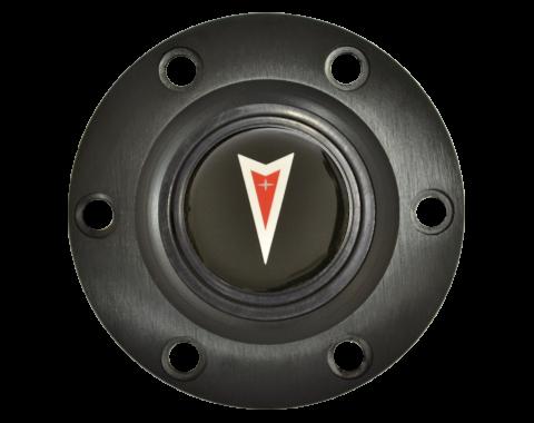 Volante S6 Series Horn Button Kit, Pontiac Red Arrow, Black