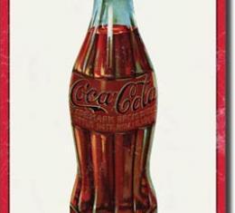 Tin Sign, COKE - 1915 Bottle