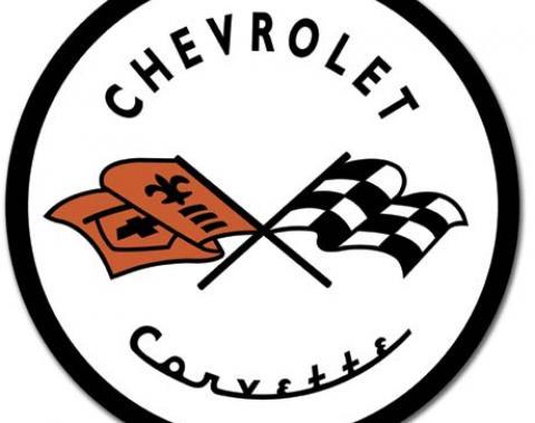 Tin Sign, Corvette '53 Logo