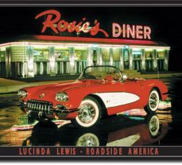 Tin Sign, Lewis - Rosie's Diner