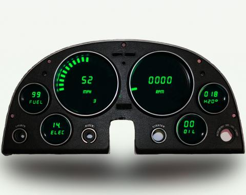 Intellitronix 1963-1967 Corvette LED Digital Gauge Panel DP2000