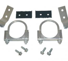 "Corvette Center Hanger Kit, 2 1/2"" Automatic with Dual Exhaust, 1974-1979"