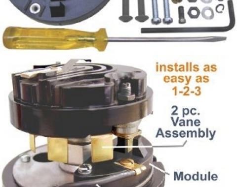 Corvette Breakerless SE Ignition Kit, 1957-1974