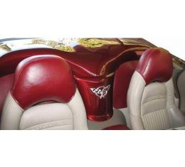 Corvette C5 Speed Lingerie Headrest Covers, 1997-2004