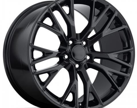 Corvette C7 Z06 Style Wheel, Chrome w/Cap, 18x9.5, +57, 1997-2004