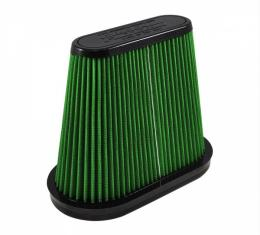 Corvette Performance Air Filter, Green, 2014-2017