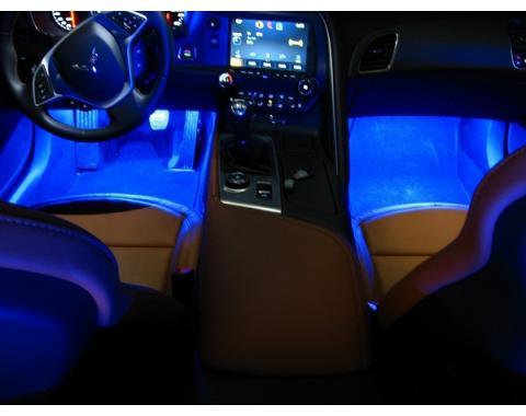 Corvette Footwell SuperBright LED Kit, 2014-2017
