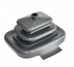Corvette, Black Lower Shift Boot 6 Speed 1988-1996