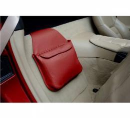 Corvette Leather Route Bag, Solid Color, 2005-2013