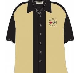 Corvette Shirt, David Carey Design, C1 Corvette Club, Tan