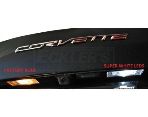 Corvette License Plate LED Kit, 2014-2017