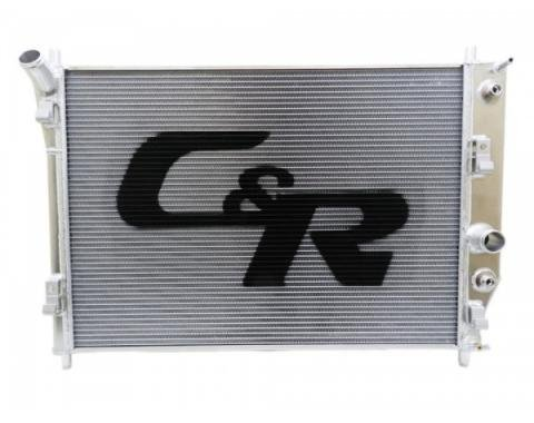 Corvette C&R Racing OE Fit 36mm Radiator, High Performance / Street, With Transmission Oil Cooler, 2005-2013