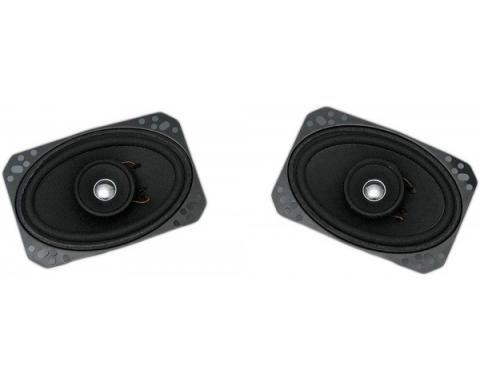 Custom Autosound 1968-1982 Chevrolet Corvette Speakers, Custom In-Dash Or Kick Panel