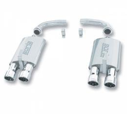 "Borla Exhaust System Performance Mufflers With 3"" Round Inter-Cooled Outlets