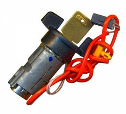 Corvette Ignition Lock, VATS,  WIth Automatic Transmission,With Key, 1986-1996