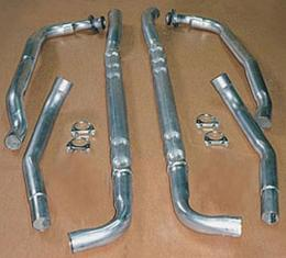 Corvette Chambered Exhaust Kit, Big Block, Stainless Steel,1974
