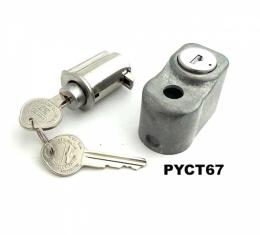 Max Performance Glove Box & Spare Tire Lock Kit With Original Keys, Concours Correct| PYCT67 Corvette 1967