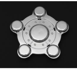 Corvette Wheel Center Cap, Chrome, 1997-1999