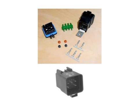 Corvette Cooling Fan Control Relay & Wiring Harness Repair Kit, 1984-1996