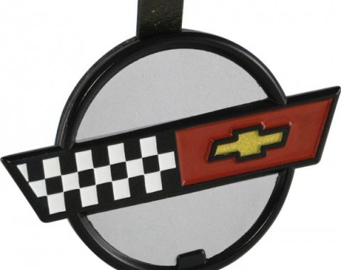 Corvette Valve Cover Emblem, 1985-1990