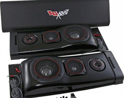Custom Autosound Challenger Speakers