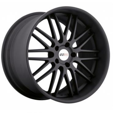 Corvette Wheel, Cray Hawk, 19x11'', Rear Only, Matte Black, 2014-2017