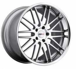 "Corvette Wheel, Cray Hawk 20x12"" Silver W/Mirror Cut, 2006-2013 Z06 & Grand Sport"