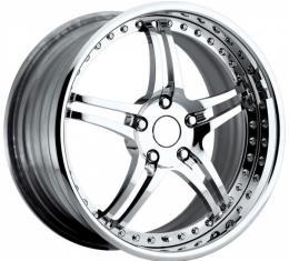 "Corvette Forged Wheel Set, 19""/20"", Chrome, 2005-2013"