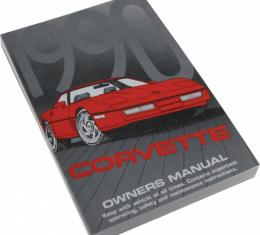 Corvette Owner's Manual, 1990
