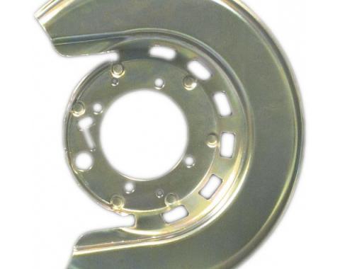 Corvette Brake Caliper Shield, Right, Rear, 1976-1982